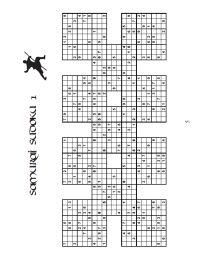 11-Grid and 13-Grid Samurai Sudoku Books