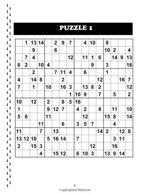 photograph about 16 Square Sudoku Printable named 16x16 Sudoku E book