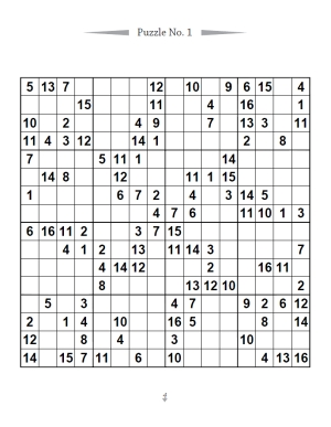 image about Sudoku 16x16 Printable referred to as 16X16 Sudoku Puzzle Guide