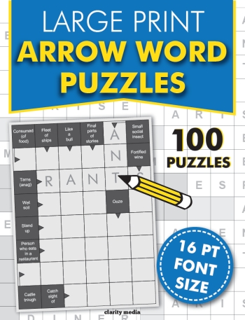 Large Print Arrow Words