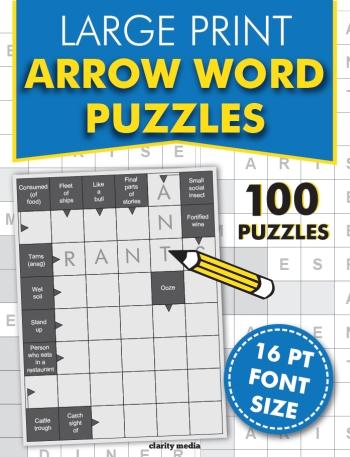 Large Print Arrow Words