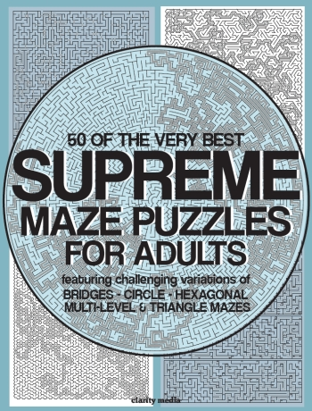 Supreme Adult Mazes & Greatest Mazes