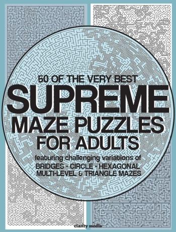 Supreme Adult Mazes & Greatest Mazes