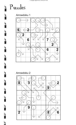 Arrow sudoku interior