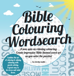Bible Wordsearch Colouring