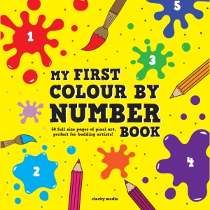 Colour By Number Book