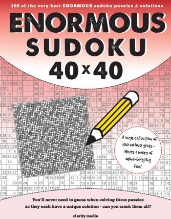 Enormous Sudoku 40x40