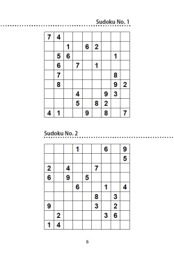 fiendish sudoku interior