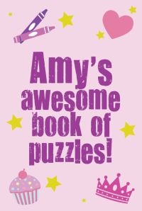 Personalised Puzzle Book Cover (Girls)