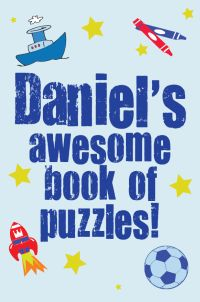 Personalised Puzzle Book Cover (Boys)