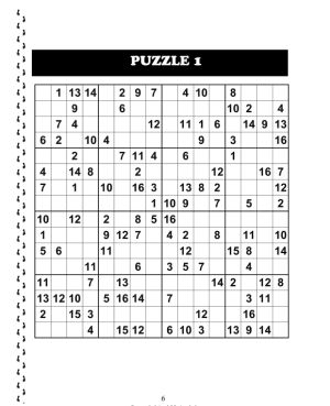 picture relating to Sudoku 16x16 Printable known as Big Sudoku 16x16 Amount of money 2