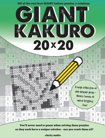Giant Kakuro Vol 1-4