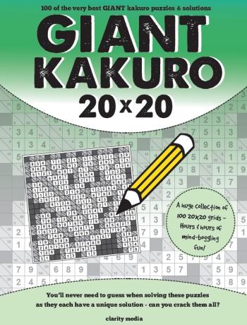 Giant Kakuro Vol 1-4