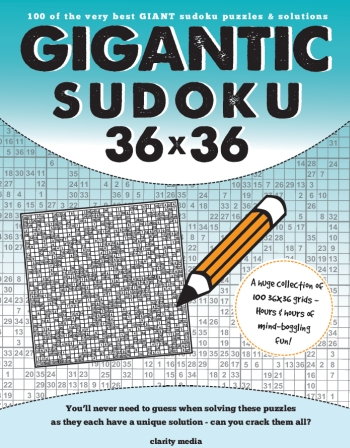 Gigantic Sudoku 36x36 Vol 1& 2