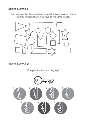 kids brain training interior
