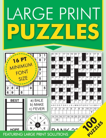 Large Print Mixed Puzzles
