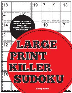 Killer Sudoku Large Print Vol 1&2