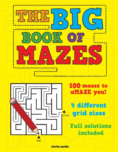 The Big Book of Mazes
