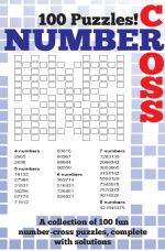 Number Cross Puzzle Book