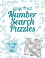 Large Print Number Search Vol 1-4