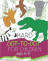 Hard dot-to-dot for Children Ages 6-8