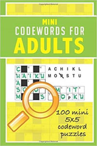 Mini Codewords for Adults: 100 bite-sized 5x5 codeword