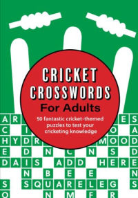 Cricket Crosswords for Adults