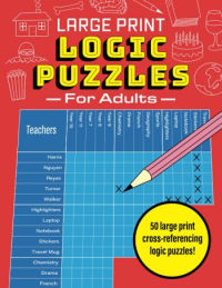 Large Print Logic Puzzles for Adults