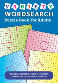 Variety Wordsearch Puzzle Book for Adults