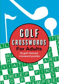 Golf Crosswords for Adults