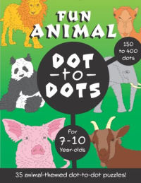 Fun Animal Dot to Dots for 7-10 year olds
