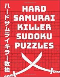 Hard Samurai Killer Sudoku Puzzles