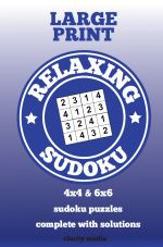 Relaxing Sudoku Large print