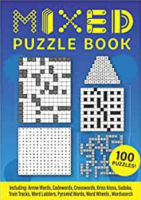 Mixed Puzzle book for adults