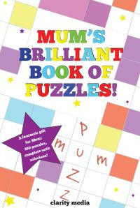 Mum's brilliant puzzle book cover
