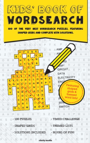 Kids' wordsearch cover