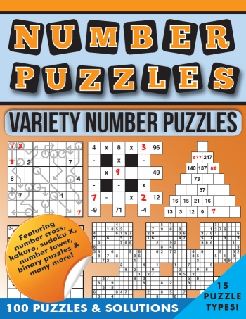 Variety Word & Number Puzzles