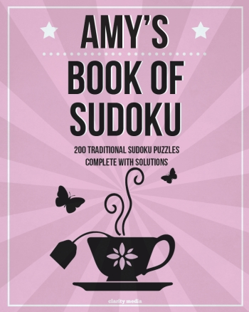 personalised sudoku cover