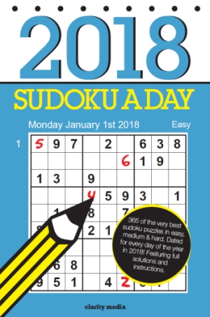 sudoku a day cover 2017