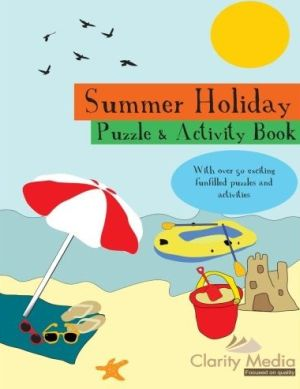 summer puzzles book