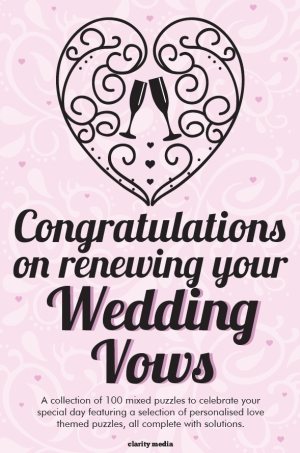 Wedding Vow Renewal Puzzles